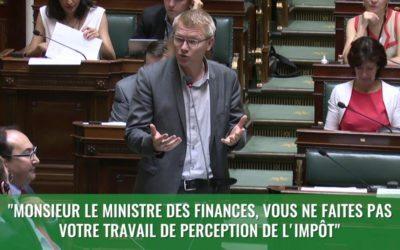 Question d'actualité au Ministre des Finances concernant les recettes fiscale