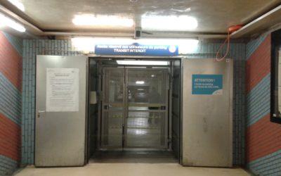 La suppression de l'accès piéton au parking de la gare de Namur