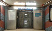La fermeture par la SNCB de l'accès piétons au tunnel de la gare de Namur via le parking