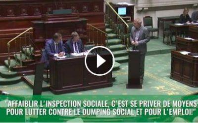 La réforme des services de l'inspection sociale