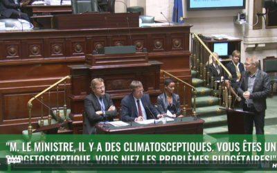 Question d'actualité au Ministre des Finances concernant les recettes et le budget