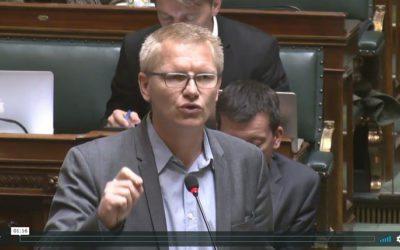 Question d'actualité au Ministre des Finances concernant les Paradise Papers