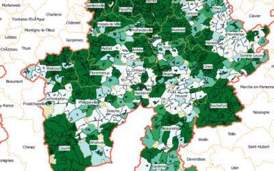 Les opérateurs peuvent et doivent faire beaucoup mieux en matière d'accès à l'internet à haut débit des Namurois.es !