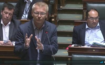 Accord sur la pénibilité des carrières: Georges Gilkinet interroge le Ministre