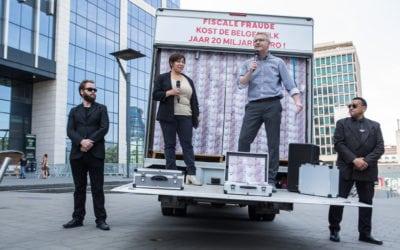 Les vrais transferts sont liés à la fraude fiscale : La fraude fiscale coûte plus de 20 milliards par an aux contribuables belges