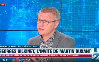 LN 24 – Georges Gilkinet est l'invité de Martin Buxant