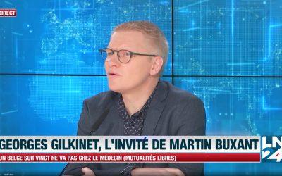 """""""Etudions sérieusement un gouvernement avec écolo et sans la N-VA"""" – Georges Gilkinet"""