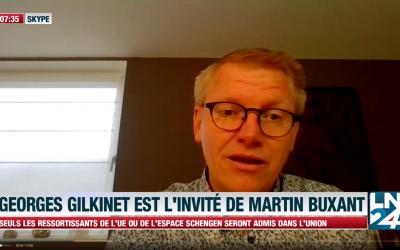 Ecolo/Groen soutient le gouvernement Wilmès – Georges Gilkinet sur LN24