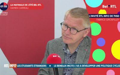 Georges Gilkinet est l'invité RTL Info de 7h50
