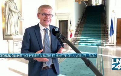 «On ne peut pas affirmer que les mesures seront moins fortes qu'en mars» – Georges Gilkinet pour LN24