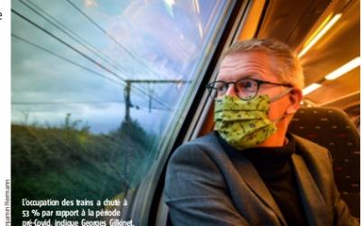 « Dans le train, on est en sécurité » – Georges Gilkinet