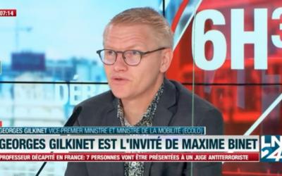 «On n'est pas dans une situation de risque extrême dans les transports» – Georges Gilkinet